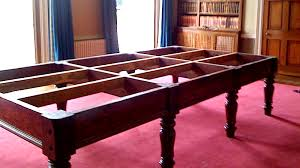 how to disassemble a pool table snooker table dismantle and move county leisure