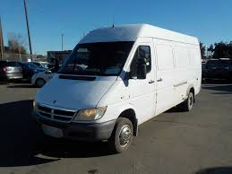 dodge sprinter high roof ext cargo van 170 wb white cozot cars