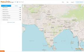 Map View Mapmyindia Geo Business Intelligence Your Data Mapped For Analysis