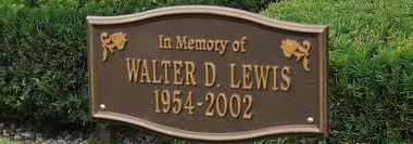 memorial markers memorial markers bronze memorial markers shop diy