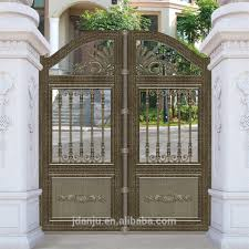 Main Entrance Door Design by 2017 Aluminium Walk Way Gate Sliding Gates Main Entrance Gate