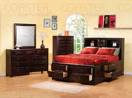 great multifunction king size bed with storage for narrow space