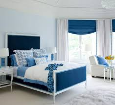 bedroom astonishing cool white blue bedroom interior design