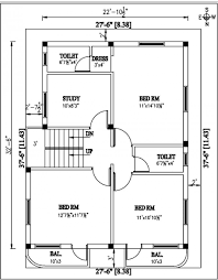 study room floor plan architecture exciting home plans for garden villa type using