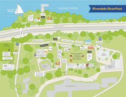 Bronx Bus Map Riverdale Riverfest Festival Site Map