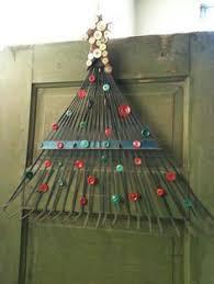 boho christmas tree driftwood wall hanging decor bohemian
