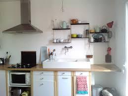 cuisine en dur une étagère pour la cuisine milex