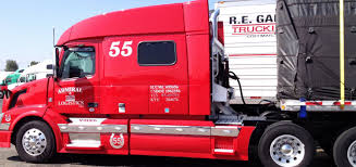 red volvo truck american trucks at truck stop trucks in usa youtube