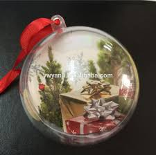 diy bath bomb mold clear view plastic christmas ball for party