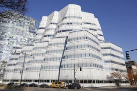Frank Gehry by Frank Gehry Building Has Globs Of Sealant Falling From Windows