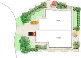 ciduplexgarden makeovers simple garden design plan ic duplex
