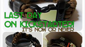survival rope bracelet kit images The bug out bracelet a paracord survival kit for edc by wesley 0&