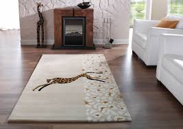 Wohnzimmer Afrika Style Moderner Designer Teppich Kalahari Afrika Motive 7 Dessins 4