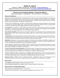 Banking Resume Template Hedge Fund Resume Sample Resume Peppapp