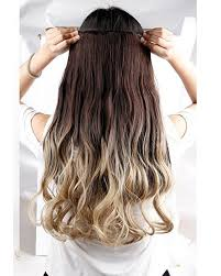 hair extension types 13 types of color 120g 25inch 5 clip in synthetic hair