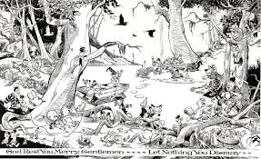 walt kelly the pogo comic strip was syndicated to newspapers for