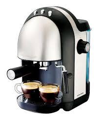 Morphy Richards 10 Cups Meno Espresso 15 Bar Coffee Maker Black