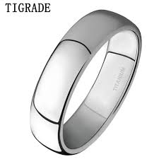 simple mens wedding bands aliexpress buy tigrade 4mm mens wedding band brushed