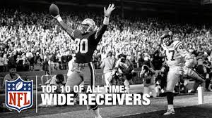 top 10 wide receivers of all time nfl youtube