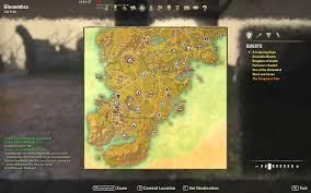 Greenshade Ce Treasure Map Glenumbra Treasure Map Elder Scrolls Online Glenumbra Treasure