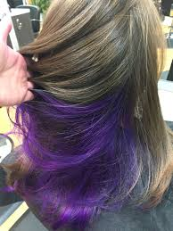 25 best ideas about highlights underneath on pinterest 25 best ideas about purple underneath hair on pinterest of purple