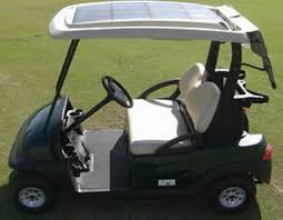 golf cart can you put solar panels on a golf cart