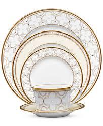noritake trefolio gold dinnerware collection fine china macy u0027s