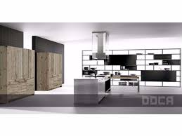 kitchen with island lingotto inox hand brushed black by xera by