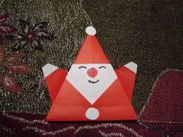 How To Make A Origami Santa - origami origami how to make an easy origami santa claus