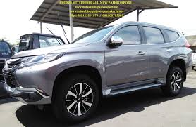 All New Pajero Sport List Kap Mobil Depan Molding Chrome promo mitsubishi pajero new pajero dakar limited edition promo