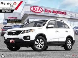 used 2012 kia sorento for sale vernon bc