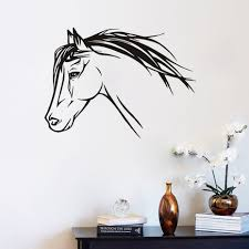 Horse Decorations For Home by Popular Wall Horse Decals Buy Cheap Wall Horse Decals Lots From