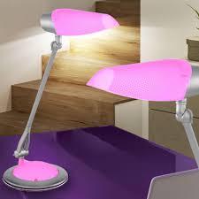 lampe kinderzimmer nacht tisch kinderzimmer lampe wohnraum leuchte verstellbar pink