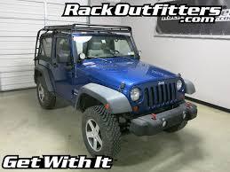 07 jeep wrangler jeep wrangler 2 door jk gobi stealth roof rack 07 16 rack