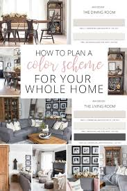 create a whole home color scheme love your home day 16
