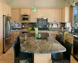 furniture oak kitchen cabinets with dark silestone vs granite and