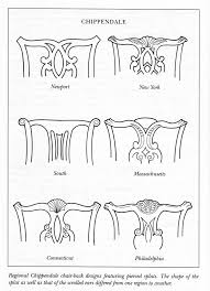 Antique Chair Styles by Chippendale Chair Back Designs Furniture Design Pinterest