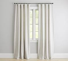 Two Tone Drapes Draperies U0026 Patterned Curtains Pottery Barn