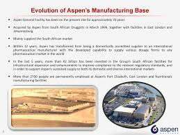 Aspen Bad Oldesloe Aspen Investor Visit Port Elizabeth Site South Africa Ppt Download