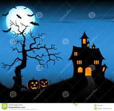 halloween lightning background halloween night with dark castle stock vector image 59901706