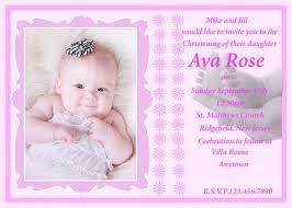 popular sample christening invitation card 61 in 1st birthday
