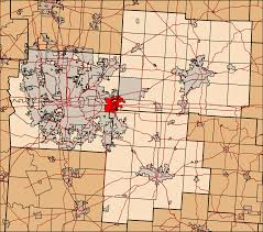 Ohio County Map With Cities by File Fairfield Franklin And Licking County Ohio Highlighting