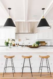 Architectural Digest Kitchens by The Right Way To Mix Metals In A Space Counter Stools Home