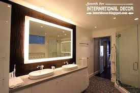 Modern Bathroom Lights Bathroom Lights Led Bathroom Lights With Shaver Socket Modern