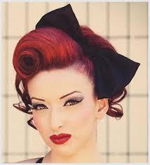 Hochsteckfrisurenen Pomp by Hochsteckfrisuren Rockabilly Roll Hairstyle 50 S Fashion