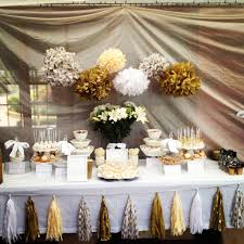 50th Anniversary Centerpieces To Make by Polkadot Parties 50th Wedding Anniversary Entertaining Ideas