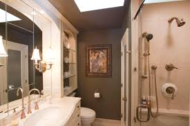 Shelves In Bathrooms Ideas by Bathroom Extraordinary Luxury Brown Small Master Bathroom Ideas