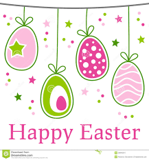 free easter cards happy easter vector design elements stock vector illustration of