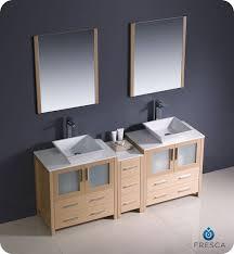 Bathroom Vanity For Vessel Sink Convenience Boutique Fresca Torino 72