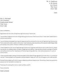 cover letter for apprenticeship cover letter for apprenticeship
